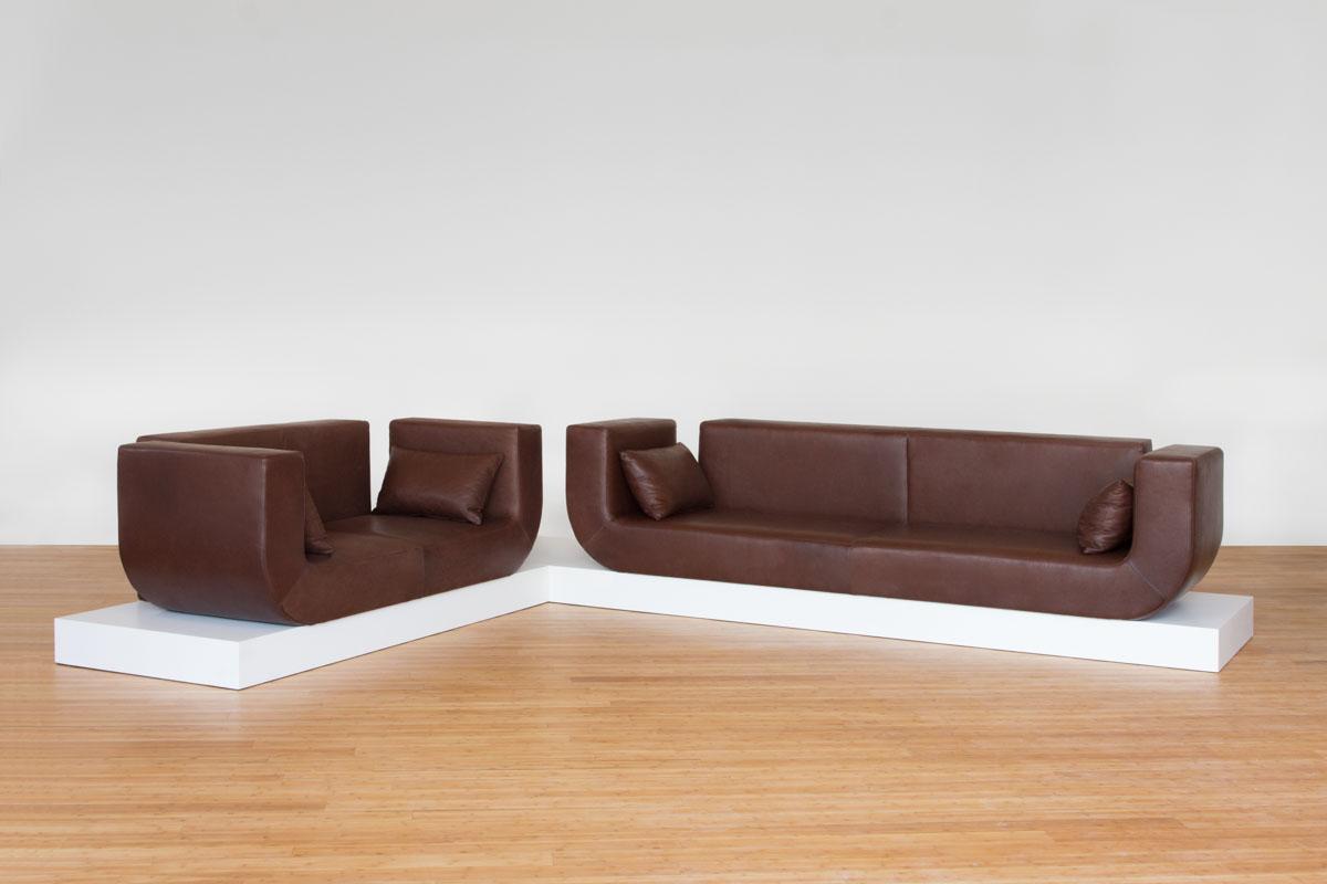 Design Ledersofa - EE05