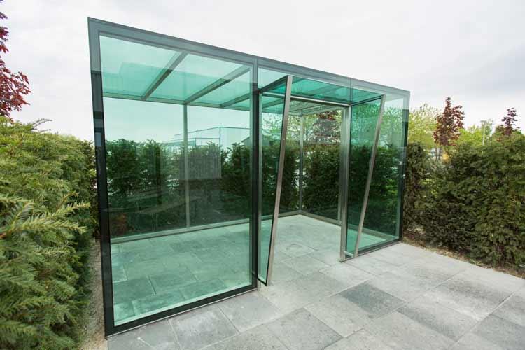 Glashaus, Aufenthalthaus für Mitarbeiter